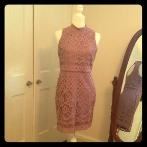 Lavender sleeveless dress 6